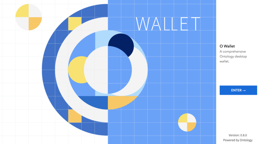 Altcoin Ontology wallet