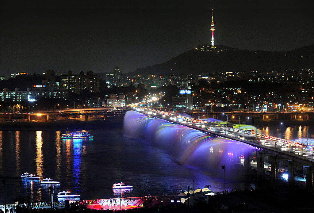 bridge in Seoul