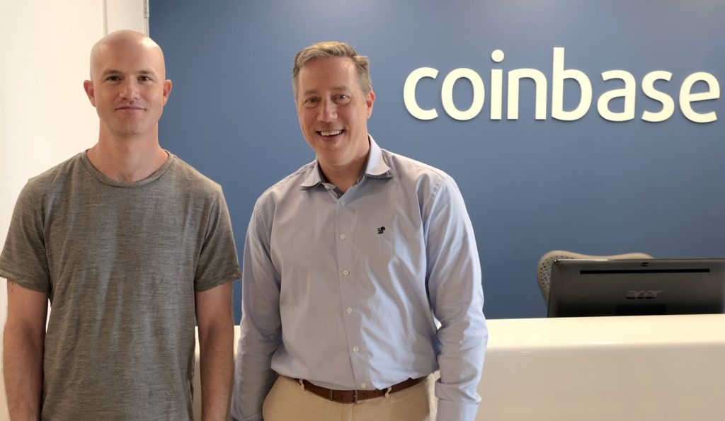Coinbase new hire