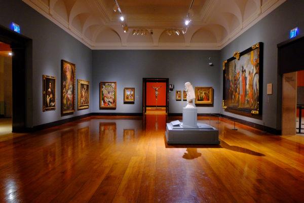 Art gallery crypto
