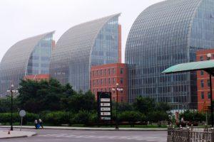 Modern buildings Tianjin, China blockchain action plan