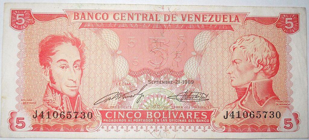 Venezuekan Bolivar