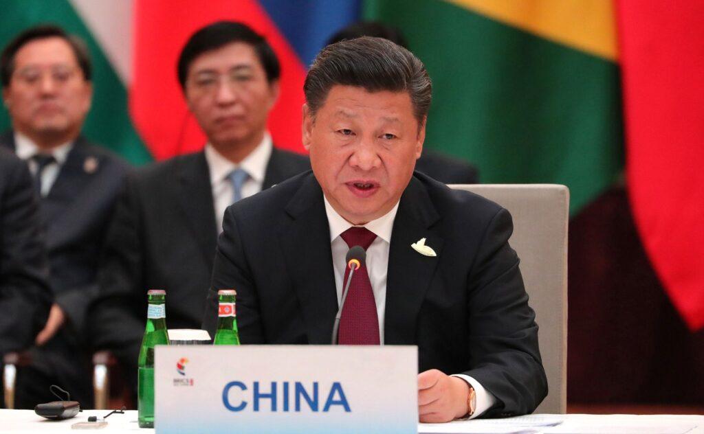 Xi Jinping blockchain
