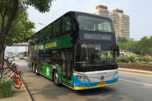 China electric bus