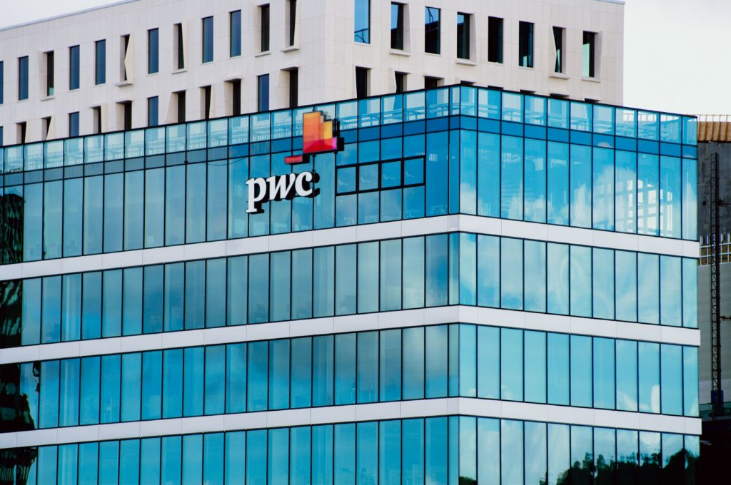 Blockchain survey - PwC building in Oslo