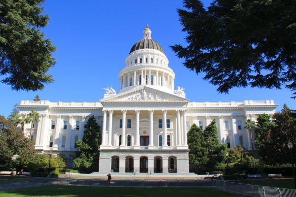 California Cryptocurrency Political Donations