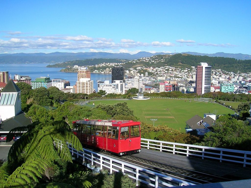 Wellington Cable Car - New Zealand