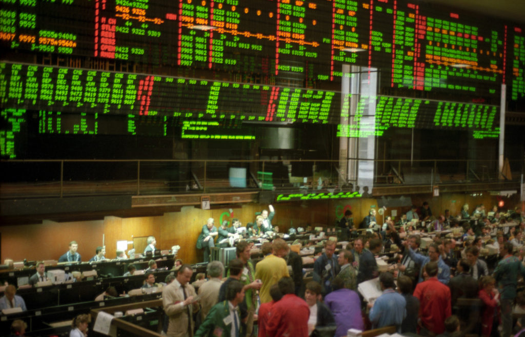 Chicago futures trading